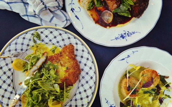 Vegetarian Dishes at Commissary at the Line Hotel