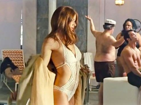 AMERICAN HUSTLE (2013) Trailer (Screengrab) -- Pictured: Amy Adams stars as Sydney Prosser